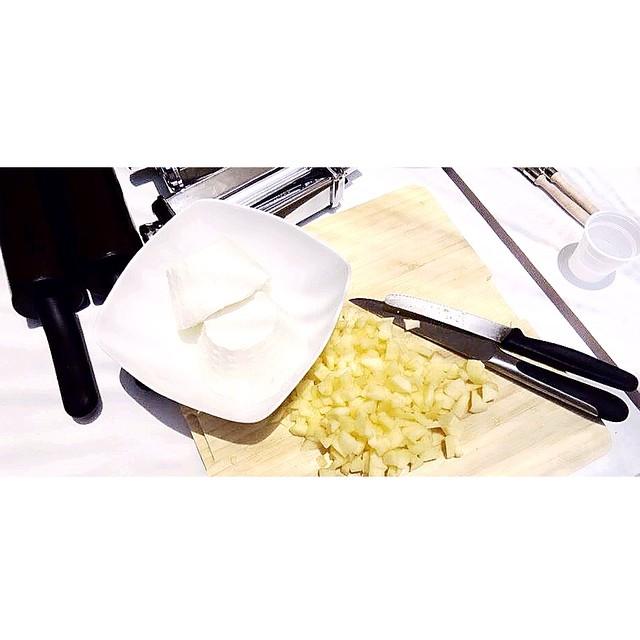 Mele&Ricotta. Da provare come ripieno della pasta.